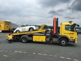 Sachsenring 2016 - Plattfuss im 2. Rennen
